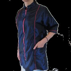 Ρόμπα Groomer Μπλε/Κόκκινο